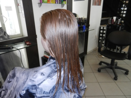 Выпрямление волос дома надолго