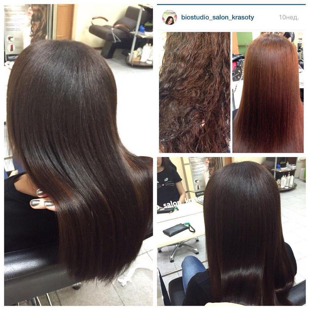 кератиновое выпрямление как влияет на волосы